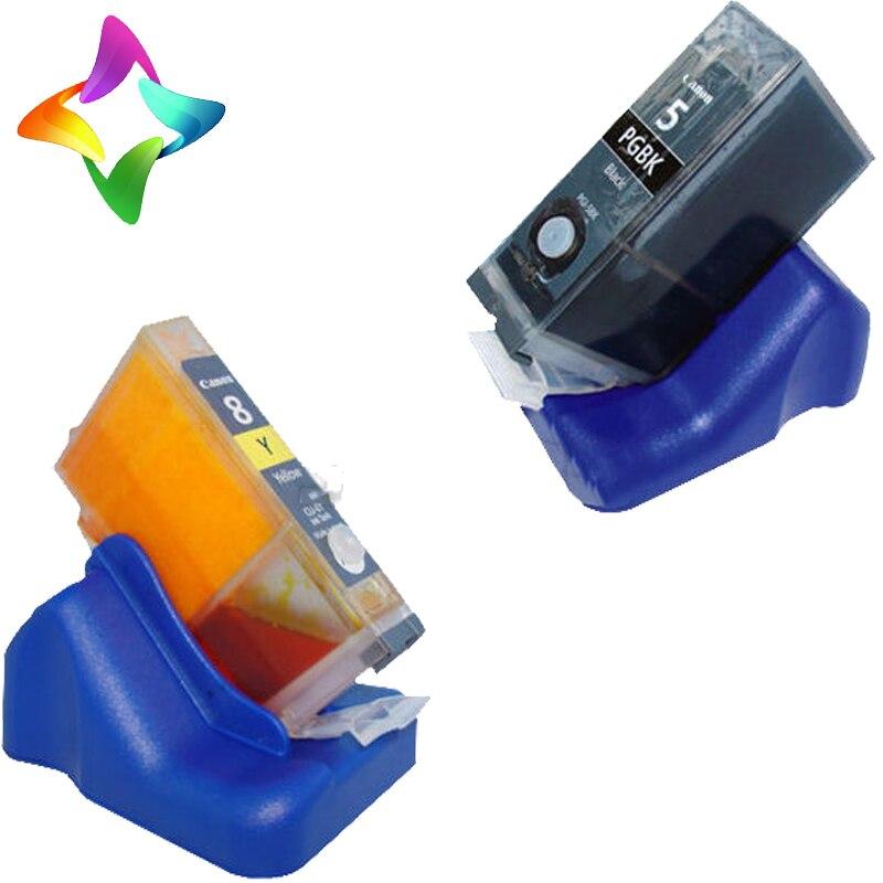 1x pcs  chip resetter Chip resetter for Canon PGI-5BK CLI-8 BK CMY cartridge for Canon pixma ip4500 ix4000 mp520 mp600<br><br>Aliexpress