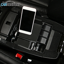 Carmonsons for Ford Explorer 2011-2017 Central Armrest Storage Box Holder Container Tray Car Organizer Accessories Car Styling(China)