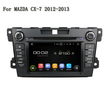 10.1 Inch 1024x600 Car DVD Player PC Android 5.1.1 GPS Navi For Mazda CX7 2012-2013 Head Unit Support Mirror link  WiFi 4G Radio
