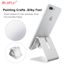 RAXFLY Universal Aluminum Metal Mobile Phone Tablet Desk Holder Stand For iPhone Xiaomi For Samsung For iPad Charger Desk Stand
