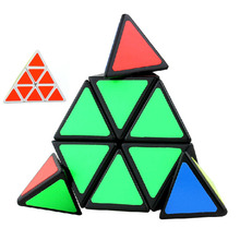 Brand New Shengshou Triangle Pyramid Pyraminx Magic Cube Puzzle Spring Speed 3X3 Cubes Puzzles Toy Twist Magic Square Cubo