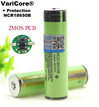 VariCore Protected 18650 NCR18650B 3400mah Rechargeable battery 3.7V with PCB
