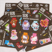 Hello Kitty cartoon characters bookmark  Creative creative bookmarks The book label for office teaching Reader's Gift page label