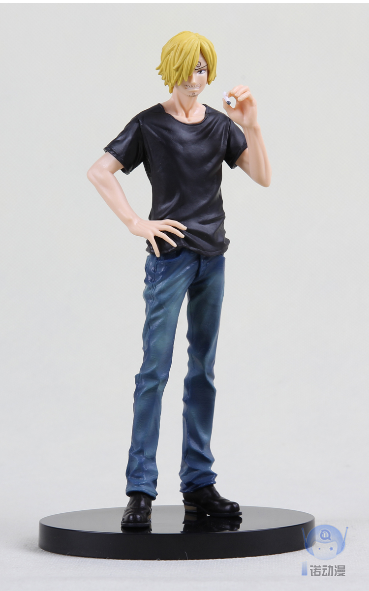 17cm original Japanese anime figure one piece Sanji Jean action figure collectible model toys  for boys girls<br>