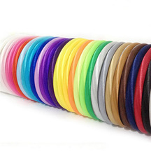 120pcs 10mm Satin Headband Girls Satin Headband Children Flower headbands For Hair Accessories