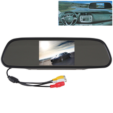 CAR HORIZON Car Mirror Monitor Super 480 x 272 Color TFT LCD Screen Wide View Angle 5 Inch Car Rear View Mirror Monitor