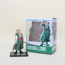 "Cool 6"" One Piece Roronoa After 2 Years Roronoa Zoro THE NEW WORLD Zero PVC Action Figure Collection Model Toy"