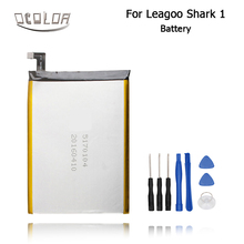 For LEAGOO Shark 1 New Original Battery High Quality 6300mAh Smartphone Replacement Accessary Free shipping