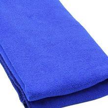 Boutique  Durable Fast Drying Microfiber Bath Towel Travel Gym Camping Sport Dark blue