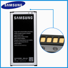New Original Samsung Battery For Samsung Galaxy S5 G900S G900I G900F G900H EB-BG900BBC NFC Mobile Phone Replacement Batteries