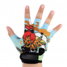 2017 Children Kids Half Finger Cycling Gloves Breathable Shockproof Anti-skid MTB Bike Bicycle Glove For Teens Lovely Pattern