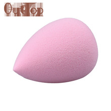 2017 Hot 1PC Water Droplets Soft Comfortable Beauty Makeup Cosmetic Pink Sponge Puff Mar6(China)