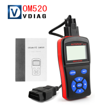New arrival OBDMATE OM520 OBD2 EOBD New Model Code Reader Top Quality Autophix OBDMATE OM520 SCANNER free shipping