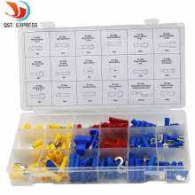 18 kinds 160PCs brass terminal assortment / kit / set, 10-18 A WG terminals combination, wire terminal Assembly