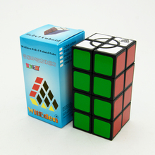 Witeden Super Crazy 2x2x4 Cube Stickers Professional Competition Speed Puzzle Cubes Toys  Crazy 224 Cube