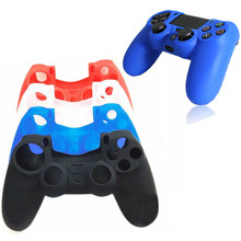 Silicone Protective Skin Cover Case for Sony Playstation PS4 Play Station PS 4 Dualshock 4 Game Controller Gamepad Joystick