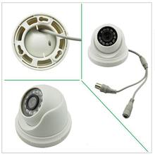 "Security 1/4"" Sony CCD 800TVL IR Day/night Cheap CMOS Indoor CCTV camera dome camera. Free Shipping(China)"