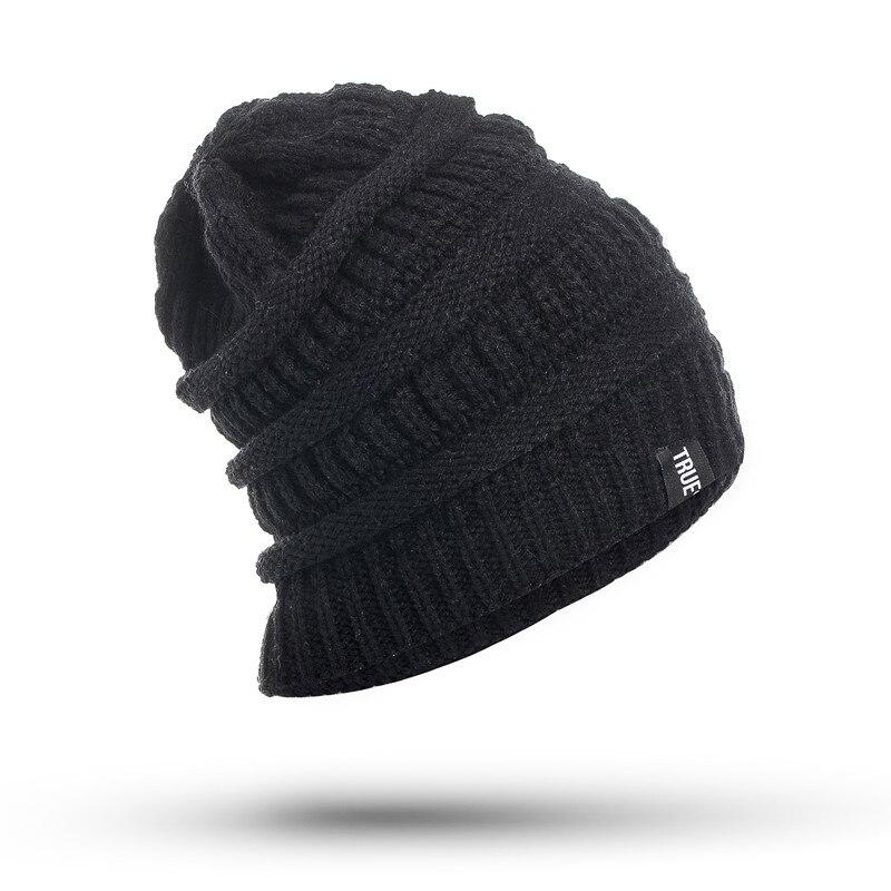 High Quality Letter True Winter Hats Bonnet For Men and Women Beanie Stocking Hat Casual Keep Warm Knitted Hat Skullies&amp;BeaniesÎäåæäà è àêñåññóàðû<br><br><br>Aliexpress