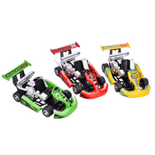 Alloy Racing Car Model Children's Toys Power Restoring Car(China)