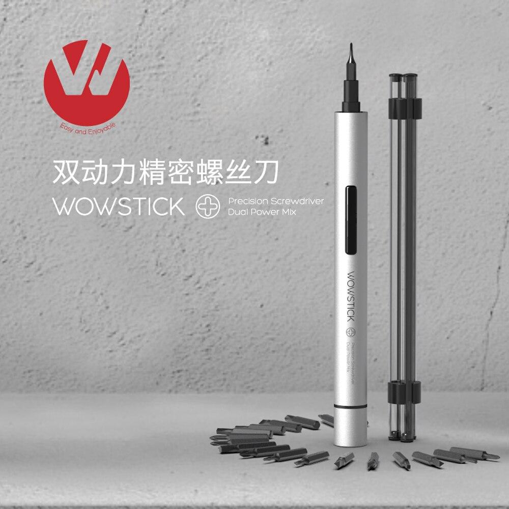 Mini Electric Screwdriver Wowstick 1fs 1p Electric torque 0.3 N.m 18 Pcs Bits For smart home kits