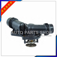 auto parts Engine Coolant Thermostat With Housing & Sensor 11537509227 For BMW E39 E46 E53 E83 Z3 Z4 X5 X3 320i 325i 330i 525i