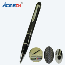 ACMECN Unique Design 60gram Heavy Ballpoint Pen for Car Shop Premium Gift Writing Pen Luxurious Black Carbon Fiber Pen for Men