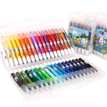 Truecolor Stationery set 12/18/24/36 silk slip stick colorful water soluble oil painting stick children art painting crayons