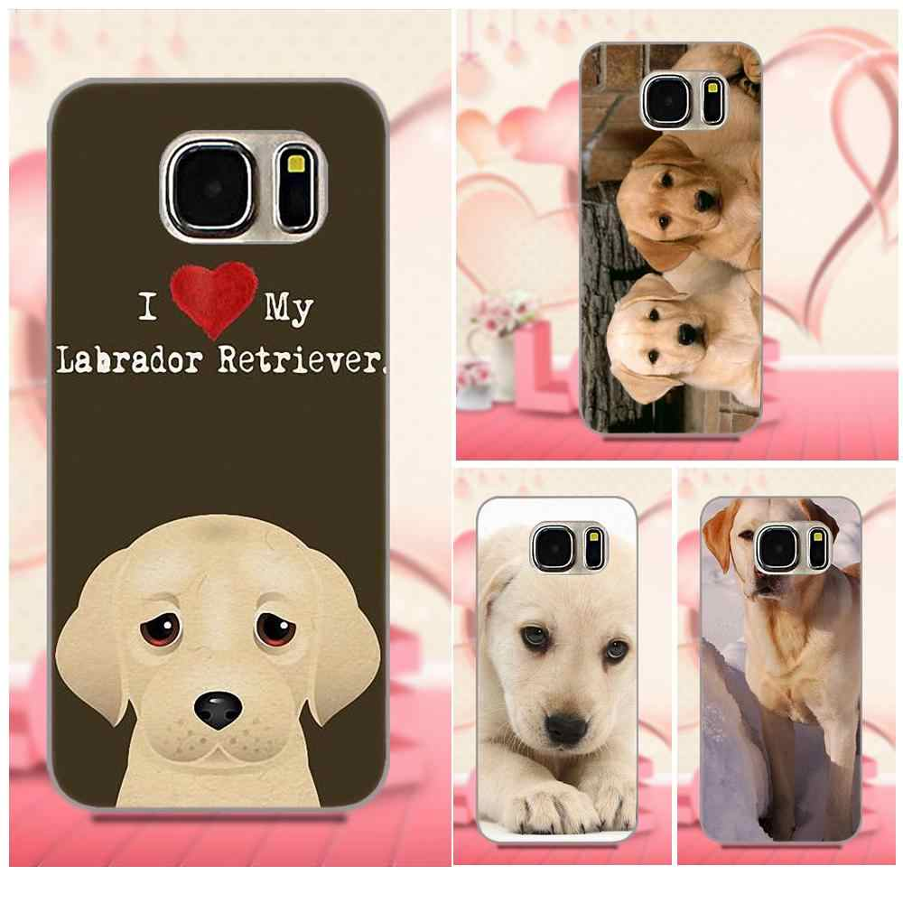 Мягкий чехол из ТПУ Bixedx для Apple iPhone 4 4s 5 5C SE 6 6 S 7 8 Plus X Galaxy большое ядро II Prime Alpha Labrador Retriever Dogs