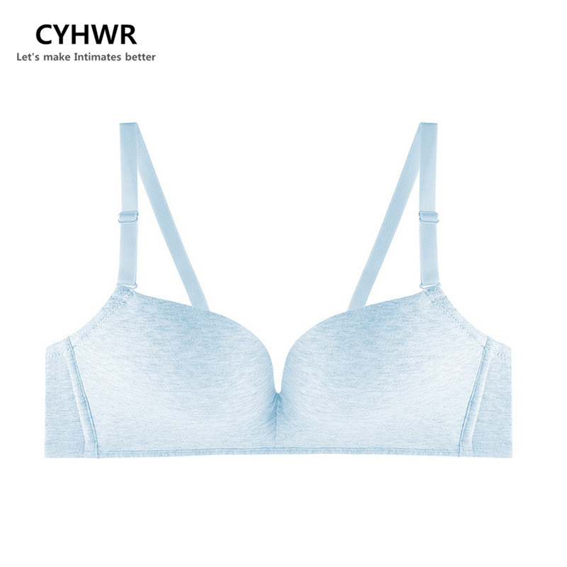 CYHWR New Fashion Lady Solid Bras Women Push Up Bra Wire Free Breathable Bra For Women Sexy Lingerie