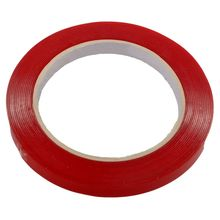 High Quality Car Double Sided Adhesive Foam Tape 10m*10mm Heat Resistant Clear Acrylic Red