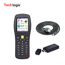 Techlogic X3 Wireless Barcode Scanner PDA Inventory Handheld Terminal PDA Laser Barcode Scanner Support Italy French Russian