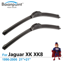 "Wiper Blades for Jaguar XK XK8 1996-2006 21""+21"", Set of 2, Car Window Wipers(China)"