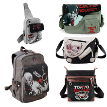 Anime Tokyo Ghoul Canvas Messenger Bag Backpack Shoulder Bag Sling Bag Kaneki Ken