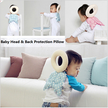 Baby Toys TNewborn Baby Head & Back Protection Pillow Toddler Cute Wings Drop Resistance Pad Guardian Baby Cushion 4-14 Months