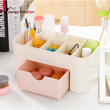 Lovely Square Plastic Storage Box Sundries Box Mini Trash Can Bedroom Living Room Office Wastebasket Desktop Storage Box