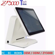 2017 Direct Selling Hot Sale 4 Units / Lot 15 Inch All In One Capacitive Touch Screen Pos Cash Register pos terminals(China)
