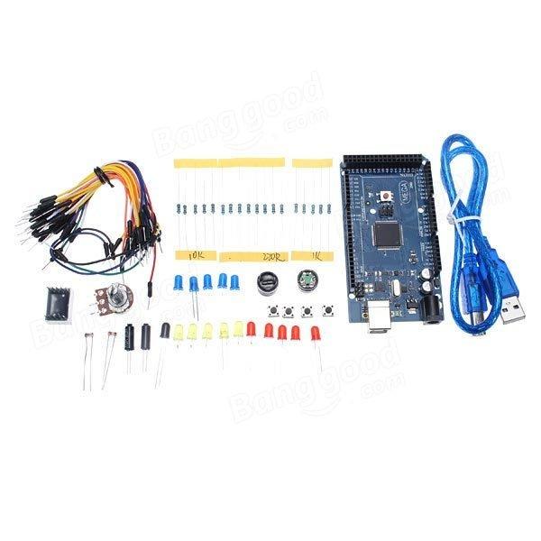 Mega2560 R3 Development Board PCB board Starter Kit Basic Kit For Arduino DIY parts kit senser MYB-120 breadboard<br><br>Aliexpress