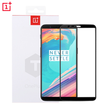 oneplus 5T glass 3D Full cover tempered glass original 100% from oneplus company screen protector for one plus 5T oneplus5t(China)