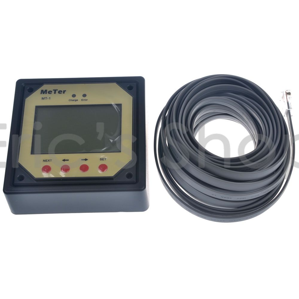 Remote Meter / Monitor MT-1 For Duo Battery Charge Controller /EPIPDB-COM Series MT1<br>