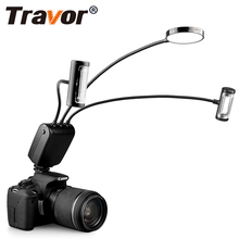 Travor FF-390DR Макро Вспышка Универсальный Камера вспышка Speedlight для Canon Nikon Ми-sony Ми DSLR Panasonic Olympus(China)