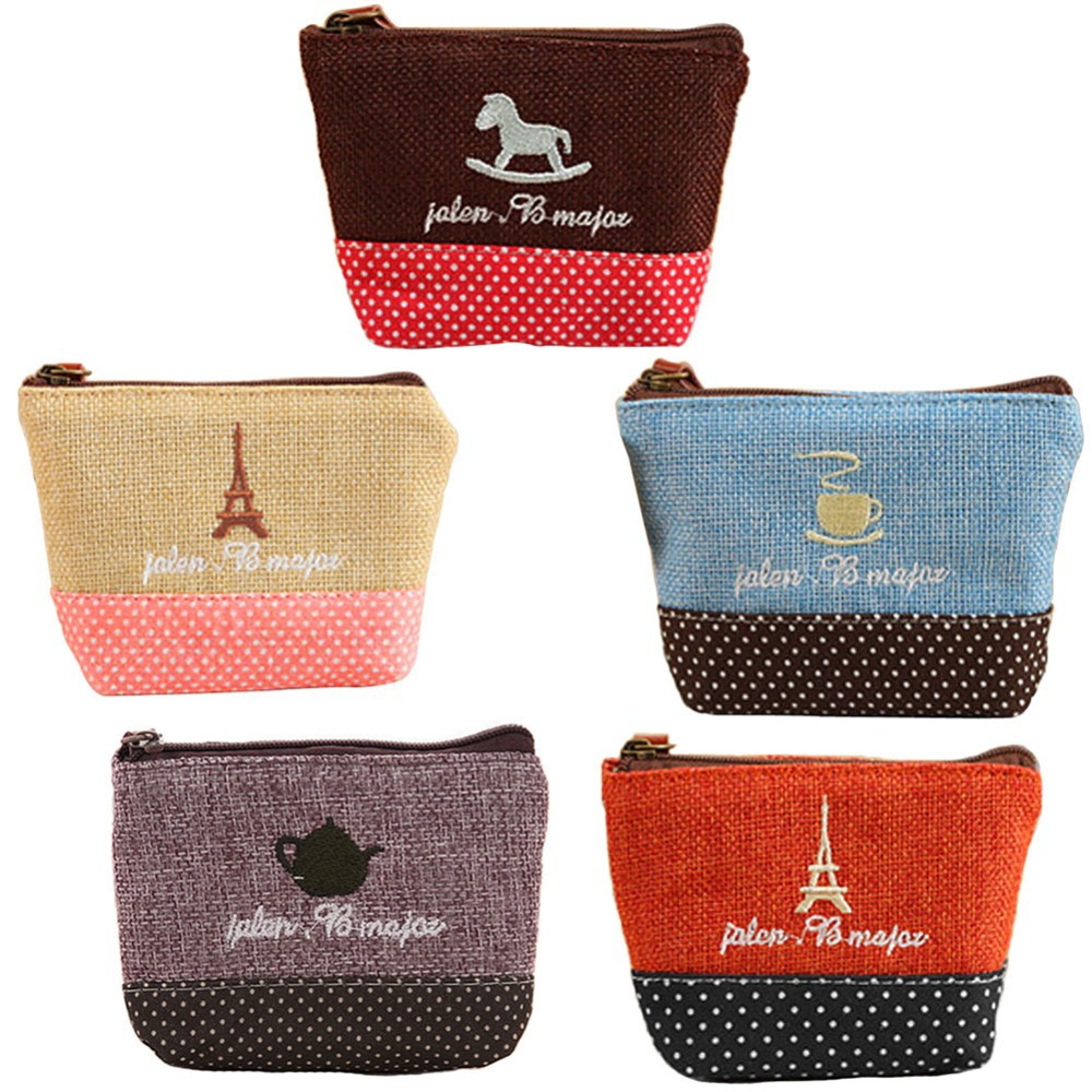 Brand New Mini Cute Women Coin Purses/Cheap Casual Sackcloth Coin Bags For Women/Fashion Women make Up Bags A1<br><br>Aliexpress