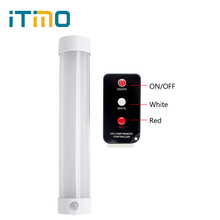 iTimo Portable Lantern with Remote Control Magnetic Repair Light 5 Mode Rechargeable Camping Hiking Lamp LED SOS Emergency Light(China)