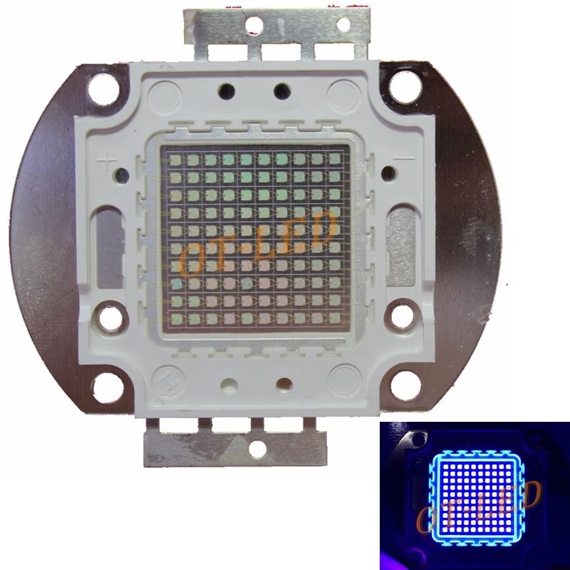 100W UV Purple LED Ultraviolet Bulbs Lamp Chips High Power UV led 365nm 395nm UV led ultraviolet lamp light DIY<br>