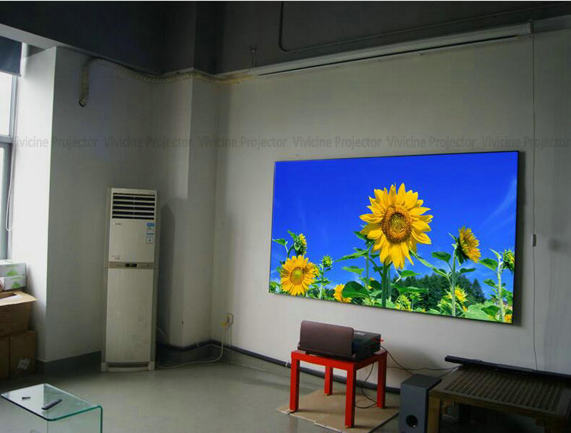 Vivicine 1080p Ultra Short Throw Projector (130)