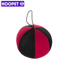 HOOPET Pet Dog Black and Red Soccer Ball Floating Ball Resistance To Bite Molars Toys Pet Supplies