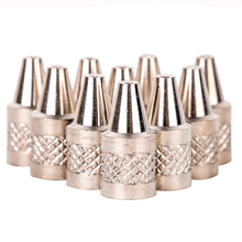 10pcs 1mm Metal Nozzle Iron Tips Set Practical Nozzle Tip 1.5 x 0.7 x 0.1cm For Electric Vacuum Solder Sucker/Desoldering Pump