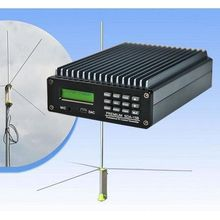 0W-15W PREMIUM SDA-15B Professional PC Control FM broadcast Transmitter Radio broadcast 1/2 GP antenna kit