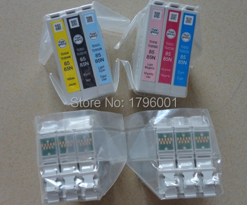 T0851 T0852 T0853 T0854 T0855 T0856 genuine ink cartridges For Epson R330<br><br>Aliexpress