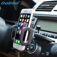 Universal car mount holder for phone CD slot phone holder stand for all smartphone Iphone 4s 5 5s 6 7 plus galaxy s3 s4 s5 s6 s7