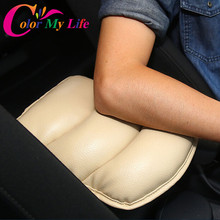 Auto Center Console Arm Rest Seat Box Padding Protective Case Soft PU Mats Cushion For VW Golf 6 7 MK7 VII Skoda Octavia A7